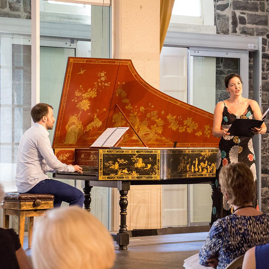 Voice and Harpsichord recital